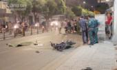 Xe máy lao vào nhà dân sau va chạm, 1 người tử vong