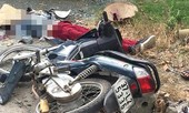 Xe tải tông xe máy gần sân bay, 2 phụ nữ thương vong