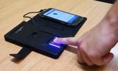 Cảnh sát Anh phát triển thành công thiết bị quét dấu vân tay mới