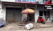 Vỏ thùng xăng nổ khi cưa, hai người bị thương nặng