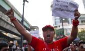 Người dân Thái biểu tình vì tổng tuyển cử có thể bị hoãn