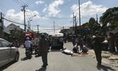 Xe container lại cán chết người đi xe máy ở Sài Gòn