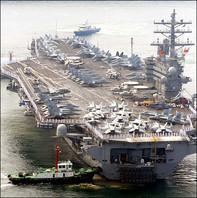 Tàu sân bay hạt nhân của Mỹ đến Nhật Bản