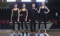 Thí sinh Vietnam's Next Top Model tích cực tập luyện trước đêm chung kết