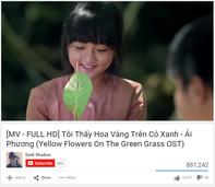 """Ái Phương gây sốt với hit """"Tôi thấy hoa vàng trên cỏ xanh"""""""