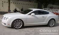 Tạm giữ siêu xe Bentley gắn biển số xe khác