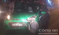 Tài xế taxi Mai Linh chạy quá tốc độ gây tai nạn