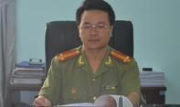 Một Trung úy Công an hy sinh trong lúc làm nhiệm vụ