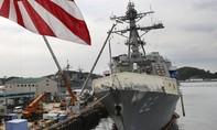 Tàu Mỹ hoàn tất tuần tra quanh bãi đá Subi