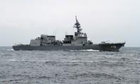 Tàu Nhật-Mỹ tập trận chung ở vùng biển phía nam Trường Sa