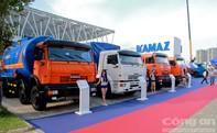 Xe tải Nga - KAMAZ tham gia VMS 2015