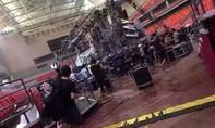 Sập sân khấu trước giờ biểu diễn của 'Britney Spears Đài Loan'