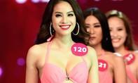Màn trình diễn bikini nóng bỏng của Top 10 Hoa hậu Hoàn vũ Việt Nam