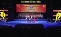 """Tôn vinh 200 thương hiệu """"Sao Vàng đất Việt 2015"""""""