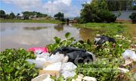 Búng Bình Thiên thành nơi chứa rác