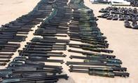 Bắt lô hàng gần 400 khẩu súng hơi vận chuyển về Bình Phước