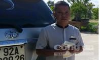 Bắt tài xế dùng bằng lái xe giả