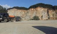 Mỏ đá nổ mìn, tài xế xe tải bị đá văng trúng đầu tử vong
