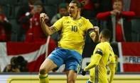 Lượt đi vòng play-off Euro 2016: Thuỵ Điển, Ukraine, Hungary tạo được lợi thế