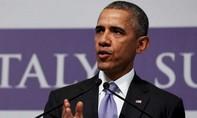 Tổng thống Obama: Trung Quốc phải ngừng xây đảo trên Biển Đông