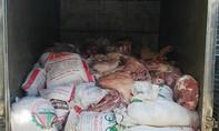 Hơn 4,4 tấn thịt thối được tuồn bán cho công nhân gần khu công nghiệp