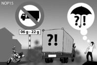 Đường cấm sao được lưu thông ?