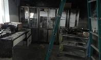 Cháy phòng thuốc bệnh viện, hàng chục bệnh nhân bỏ chạy tán loạn