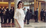 'Gà cưng' Vũ Khắc Tiệp diện váy 700 triệu lộng lẫy tại Hàn Quốc