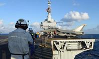 Tàu sân bay Charles-De-Gaulle phá tan 2 căn cứ của IS