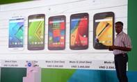 Motorola quay lại thị trường Việt với 5 mẫu điện thoại
