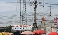 Mối nguy hiểm khôn lường của đường dây điện trong khu dân cư