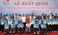 Đoàn thể thao NKT Việt Nam xuất quân tham dự ASEAN Paragames 8