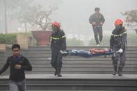 Giải cứu hàng ngàn người trong diễn tập chữa cháy quy mô lớn