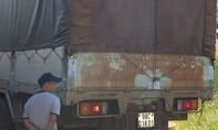 Công an bắt xe tải chở thuê 29 m3 gỗ lậu