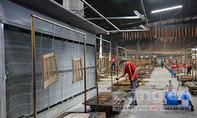 Kịp thời khắc phục vụ cháy nhà xưởng công ty gỗ