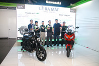 Kawasaki ra mắt bộ đôi Vulcan S và Versys