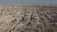 """Quang cảnh như """"tận thế"""" ở ngoại ô Damascus sau 4 năm nội chiến Syria"""