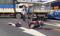 Xe máy húc đầu xe tải, nam thanh niên tử vong tại chỗ