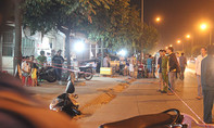 Va quẹt xe máy, 2 người bị đâm chết, 1 người bị thương