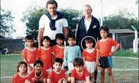 Thời thơ ấu ghi bàn đổi bánh ít người biết của Messi