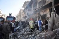 Hai vụ nổ bom liên tiếp tại Syria, hơn 100 người thương vong