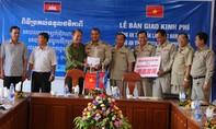 Nồng ấm nghĩa tình Công an 2 tỉnh Đắk Lắk và Mondulkiri