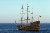 Phát hiện con tàu huyền thoại San José bị đắm chở theo kho báu khổng lồ