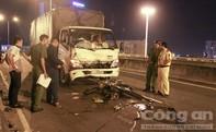 Nam thanh niên tông trực diện xe tải, tử vong tại chỗ