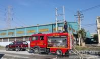 Quận 8: Cháy 500 m2 xưởng chế biến gỗ