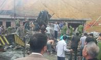 Sập giàn giáo, 16 công nhân bị đống đổ nát vùi lấp