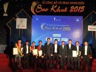 Viettel đạt danh hiệu Sao Khuê 2015