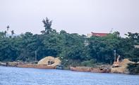 Bó tay với cát tặc trên sông Thu Bồn?