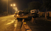 Một CSGT bị xe đầu kéo tông tử vong khi đang làm nhiệm vụ