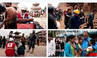 Click chuột tham gia hỗ trợ nạn nhân động đất Nepal